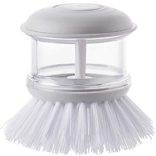 Puede agregar detergente para lavar platos Cepillo de limpieza multifuncional para el hogar cocina antiadherente aceite lavavajillas cepillo más líquido lavado olla