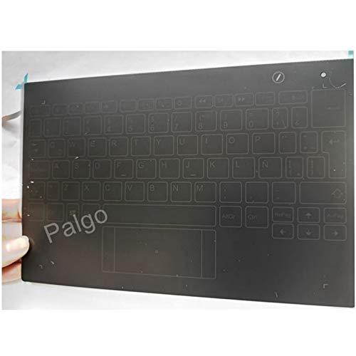 Junweier Español Teclado retroiluminado para 10.1' Lenovo Yoga Book Yogabook YB1-X90L YB1-X90F YB1-X91L YB1-X91F X90 X91 Spanish SP Latin LA ES