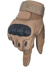 タクティカルグローブ サバゲー グローブ クッションが分厚いから拳が痛くないハードナックル 選べる3色4サイズ フルフィンガー TOT