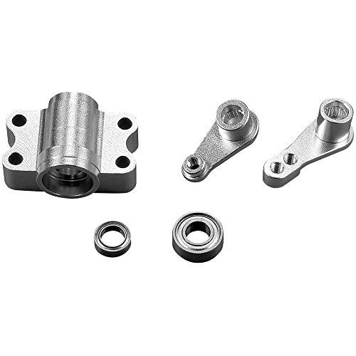 Carson 500530914 1:14 Support en Aluminium pour Levier de Direction 2/3 Axes UE Pièce de Tuning, modélisme, Accessoires