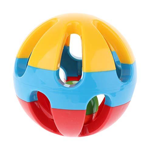 Homyl Bébé Balle Saisir Balle d'Entraînement Montessori Sensoriel Jouet d'Éveil pour Bébé Enfant - A