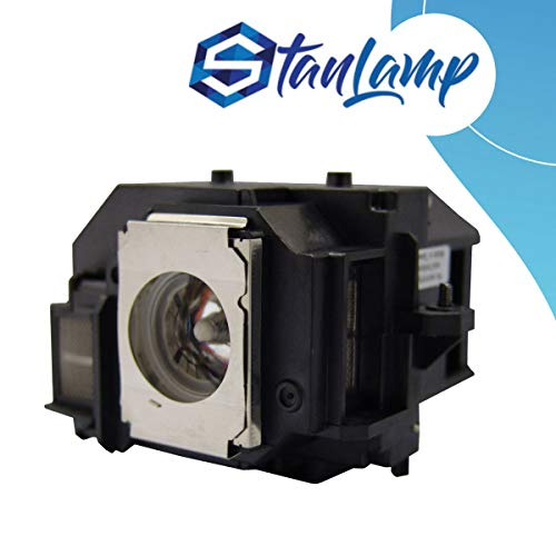 StanLamp Projector Replacement Lamp with Housing for Epson ELPLP56 V13H010L56 MovieMate 60 62 EH-DM3 H319A H319B