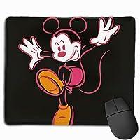 マウスパッド ミニーマウス 防水 洗える 耐久性 滑り止め オフィス 高級感 おしゃれ かわいい 25x 30x 0.3cm