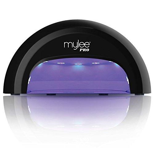 Mylee PRO Salon Series UV LED Lámpara para Secado de Uñas. Tecnología CONVEX