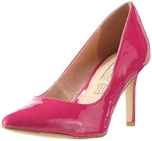 Buffalo Shoes Damen H733-C002A-4 P2010M PATENT Pumps, Pink (Fuschia 33), 37 EU