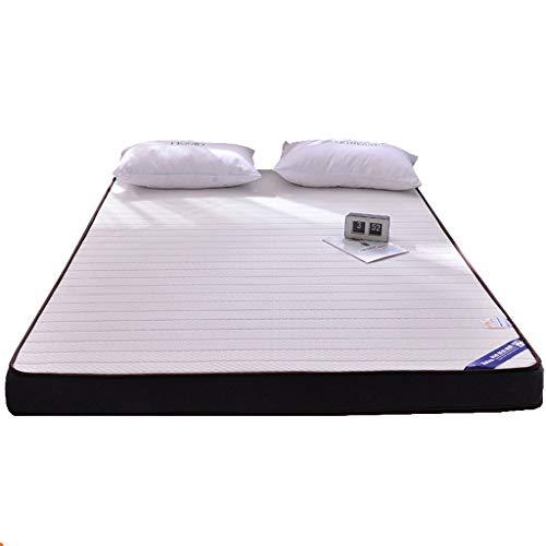 GOPG Memory Foam Matratze, Latex Verdicken Hoher Rückprall Bequem Faltbar Tatami-Matte Geeignet für Schlafzimmer Wohnzimmer Hotel-Dick:10cm(4Zoll)-120x190cm(47x75Zoll)