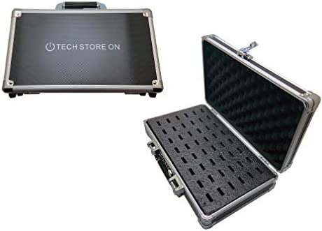 Portable USB Thumb Flash Memory Drive Organizer Carrying Case Box with Top Handle Secure Combination product image