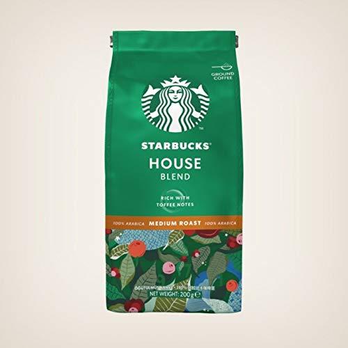 Starbucks House Blend Medium Roast Ground Coffee,...