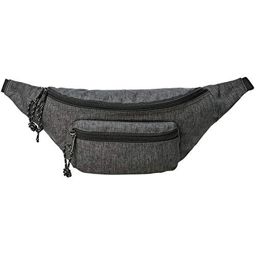 Amazon Basics - Bolsa acolchada con doble bolsillo, 3 L, gris