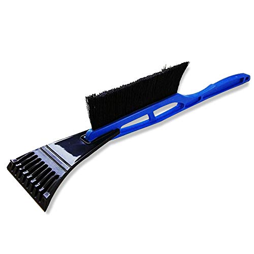 Eagles 2-in-1 Ice Scraper & Snow Brush with Soft Bristle Best,Snow Removal Shovel for Winter Vehicle,Long Handle Snow Scraper,Ice Hammer Snowbrush and Ice Scraper for Car Windshield and Window