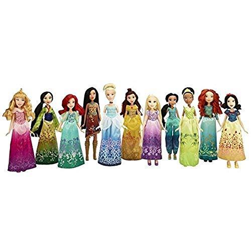 Hasbro B5286EU4 Princesas Disney Muñeca Básica, modelos surtidos, 1 unidad