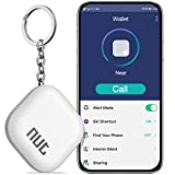 Key Finder, DinoFire Key Finder with App for Android/iOS Phone, Key Finder Locator for Purse Wallet Keychain, Phone Finder with One Touch Find & Anti-Loss Function, White