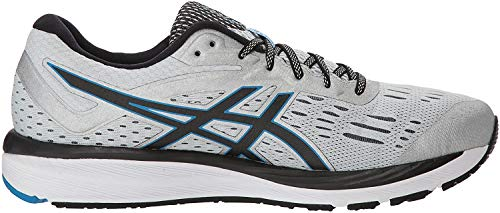 ASICS Men's Gel-Cumulus 20 Running Shoes, 11M, Glacier Grey/Black