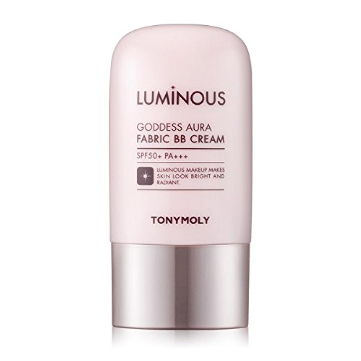 家畜順番タワーTONYMOLY Luminous Goddess Aura Fabric BB Cream (01 Skin Beige) / トニーモリー ルミナス女神光彩ファブリックBBクリーム 40g [並行輸入品]