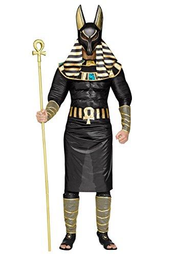 Adult Anubis Fancy Dress Costume Standard