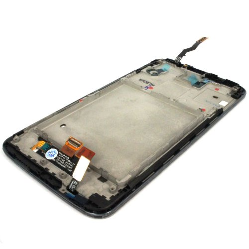 Generic Full Panel Lcd Display Touch Digitizer Glass W/ Bezel Frame Compatible For LG Optimus G2 D800 D801 D803 LS980 Black