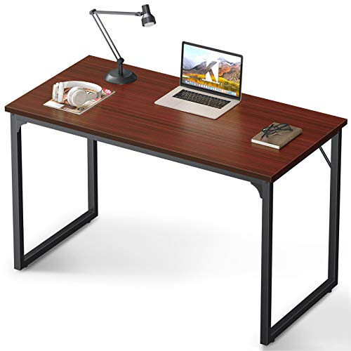 Coleshome 47 Inch Computer Desk Modern Simple Style ...