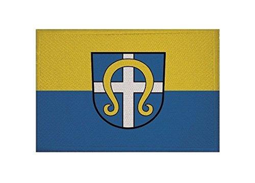 U24 Aufnäher Korntal-Münchingen Fahne Flagge Aufbügler Patch 9 x 6 cm