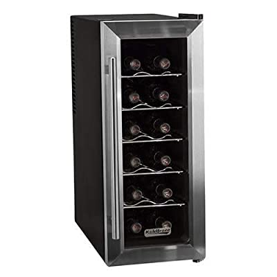 Koldfront TWR121SS 12 bottle wine cooler