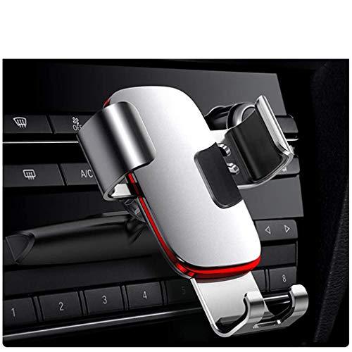 SZKJ Kfz-Halterung für Mobiltelefon, CD-Schlitz, Handy-Halterung für Auto, Legierung Rahmen, Präzisionsmechanisches Getriebe, freie Schwerkraft-Freisprecheinrichtung, für Handys mit 10,2-16,5 cm