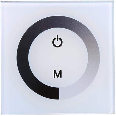 1/Gang EU est/ándar regulador interruptor pared regulador interruptor de luz Casa Touch regulador interruptor