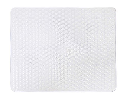 "PVC Sink Mat Pad ECO-Friendly Kitchen Sink Protector Mat, Rectangle, 12""X15"" (Clear)"