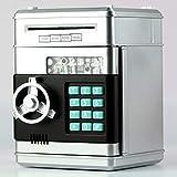 Niños Dibujos Animados Banco de Dinero electrónico Mini ATM Contraseña Monedas Caja de Ahorro de Dinero (Astilla)