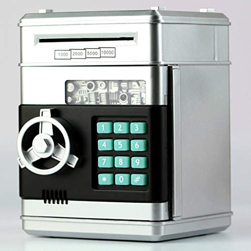 Electronic Piggy Bank ATM Password Money Box Cash Monedas Ahorro Bank Bank Caja Seguridad Automático Depósito Billete Niños