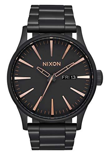 Nixon Reloj Analógico para Hombre de Cuarzo con Correa en Acero Inoxidable A356-957-00