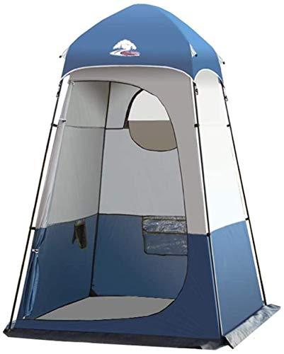 Portable Tienda de Baño de Camping Pop-up privacidad tienda inmediata inodoro portátil ducha al aire libre tienda de campaña, ventana con un abrigo de la lluvia - camping y de la playa Configuración f