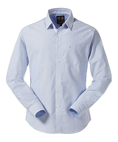 MUSTO aIDEN oXFORD sHIRT pale blue-taille m