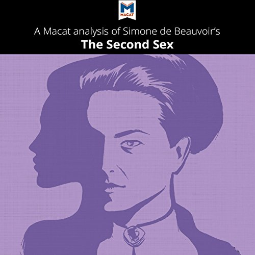 A Macat Analysis of Simone de Beauvoir's The Second Sex audiobook cover art