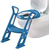 Best Toddler Toilet Seats - Potty Training Toilet Seat with Step Stool Ladder Review