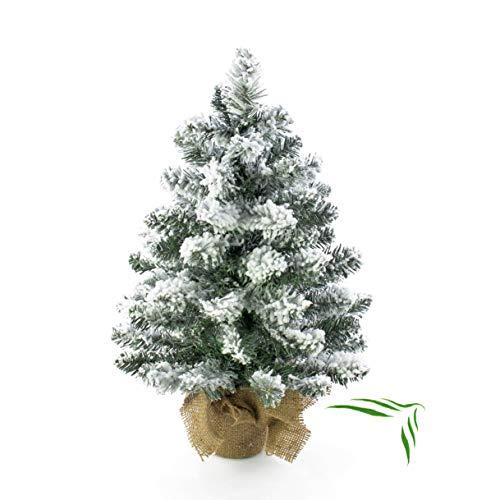 Artplants.de Mini árbol Navidad Artificial Reykjavik