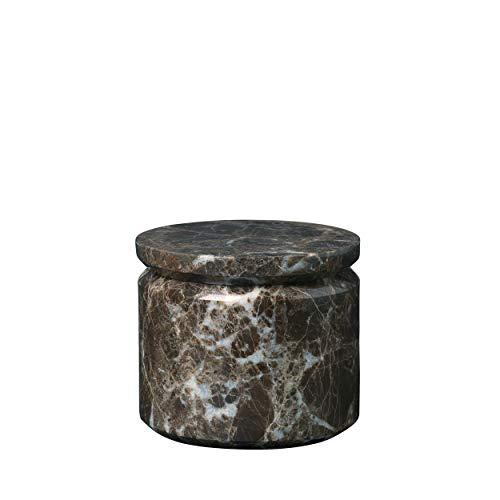 Blomus Aufbewahrungsdose-65996 Marmor Aufbewahrungsdose, Braun, One Size