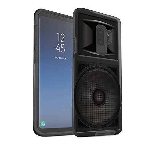 Stuff4® matte harde schokbestendige hoes/case voor Samsung Galaxy S9 Plus/G965/Studio Monitor patroon/luidspreker design collectie