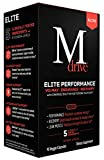 Mdrive Elite Energizing Testosterone Booster with Cordyceps, Fenugreek and KSM-66, 90 Count
