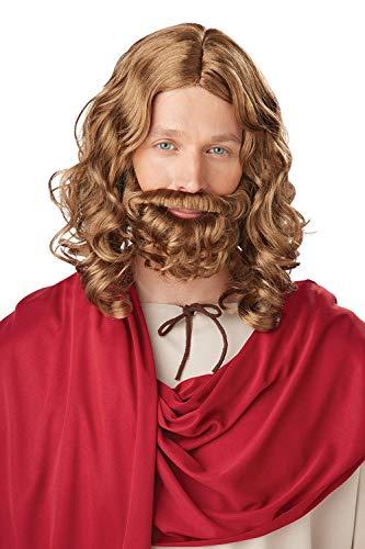 California Costume - Pe879 - Perruque et moustache jésus
