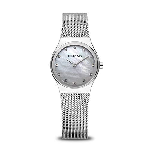 BERING Damen-Armbanduhr Analog Quarz Edelstahl 12924-000