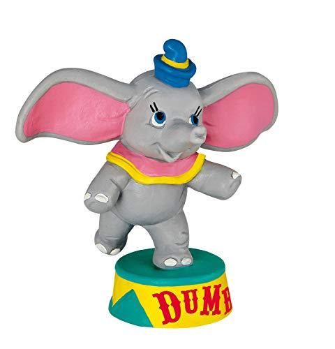 Bullyland 12436 - Spielfigur, Walt Disney Dumbo stehend, ca. 7,5 cm groß, liebevoll handbemalte Figur, PVC-frei, tolles Geschenk für Jungen und Mädchen zum fantasievollen Spielen