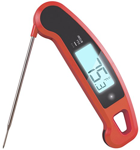 Lavatools Javelin PRO Duo Ambidextrous Backlit Professional Digital Instant Read Meat Thermometer for Kitchen Food Cooking Grill BBQ Smoker Candy Home Brewing Coffee and Oil Deep Frying