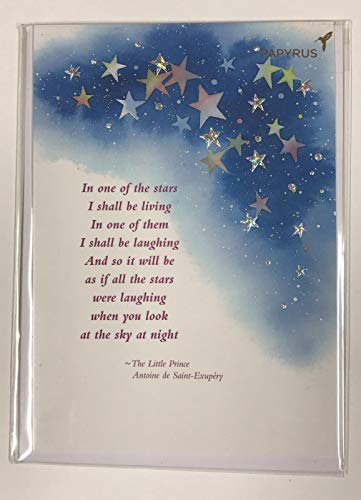 Sympathy - Stars in the sky, Papyrus Sympathy Greetings Card