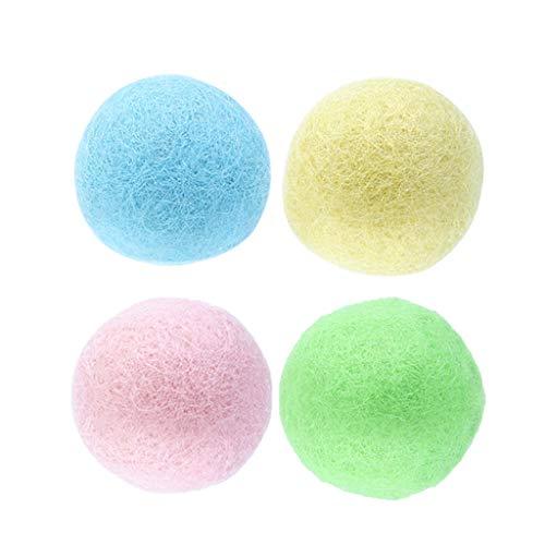 Zuanty Cat Filzball Spielzeug, bunt, umweltfreundlich
