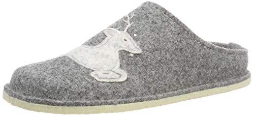 ARA Damen Cosy Pantoffeln, Grau (Grau 09), 37 EU