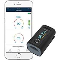 Wellue Fingertip Blood Oxygen Saturation Monitor With Bluetooth