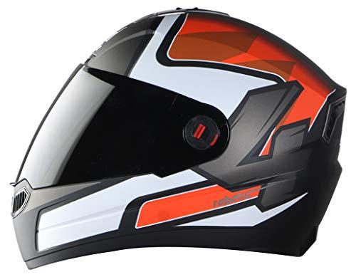 Steelbird SBA1 Robotics Full Face Helmet in Matt Finish Lar