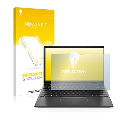 upscreen Entspiegelungs-Schutzfolie kompatibel mit HP Envy x360 13-ay0278ng – Anti-Reflex Bildschirmschutz-Folie Matt