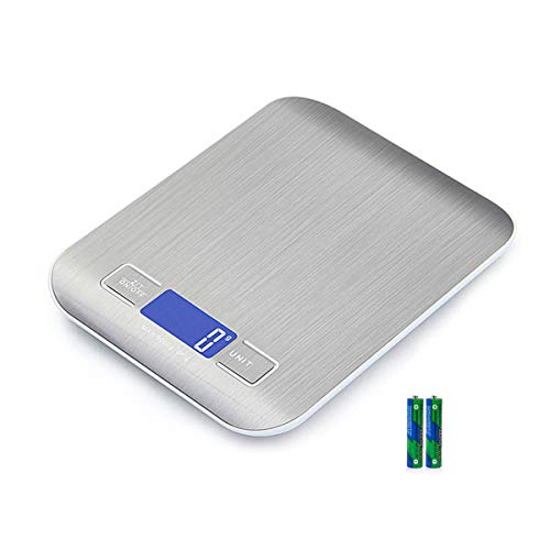 Digital Kitchen Scales, Premium Stainless Steel Cooking Scales,Electronic...