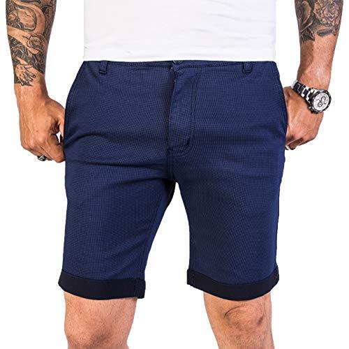 Rock Creek Designer Chino Shorts Herren Short Sommerhose Elegant Bermuda Kurz Herrenhose Anzugsshorts Herrenshorts Bermudas RC-2204 Navy W32