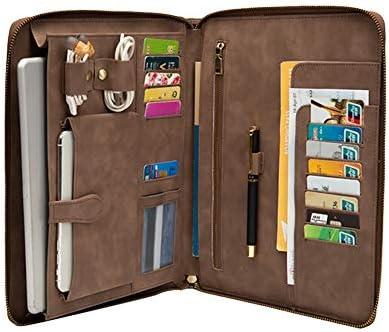 Men iPad Portfolio Case for 9 7 inch Professional Tablet Cases Business Briefcase Padfolio Travel product image